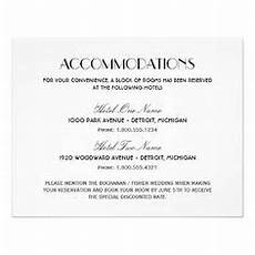 How To Word Hotel Accommodations For Wedding Invitations 10 Best Wedding Details Card Images Wedding Invitation