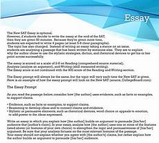 Essay Examples For Sat New Sat Essay Practice Test Courses Sat Essay Tips In Nj Usa