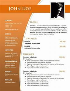 Easy Resume Format Download Simple Resume Format Free Download In Ms Word Resume
