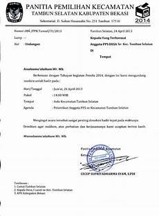 contoh surat undangan hasil rapat contoh isi undangan
