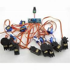 Arduino Servo Motor Control 16 Channel Pwm Servo Motor Controller Diy For Arduino