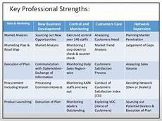 Professional Strenghts Professional Profile Major S M Nuruzzaman Retd