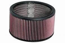 Round Air Filter Size Chart K Amp N E 3650 K Amp N Universal Round Air Filters Free Shipping