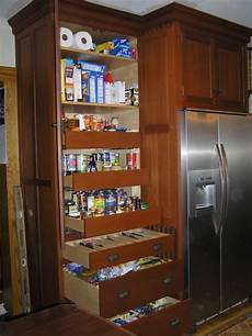 12 quot pantry next to 24 quot fridge cabinet townhome