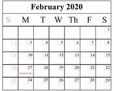 free online printable calendars 2020 download february 2020 printable calendar in pdf excel