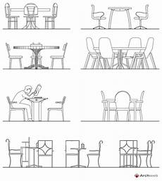 dwg tavoli tables and chairs dwg drawings
