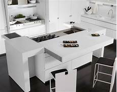 corian cucina lacquered corian 174 kitchen with island essential quadra