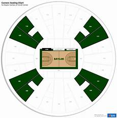 Baylor Football Seating Chart Ferrell Center Baylor Seating Guide Rateyourseats Com
