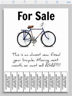 For Sale Template With Tear Offs 7 Best Images Of Create A Printable Poster Free