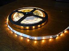 Amber Led Tape Light 16 4 Foot 3528 Yellow Amber Under Cabinet Counter Led