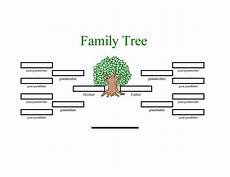 Family Tree Outlines Free Where Can You Find A Family Tree Template