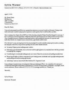 Cover Letter For Attorney Position Lawyer Cover Letter Sample Monster Com