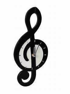 Clef Music My Music Gifts Wall Clock Treble Clef Shaped Ceramic