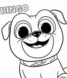 Bingo Coloring Pages Puppy Dog Pals Coloring Pages To Print