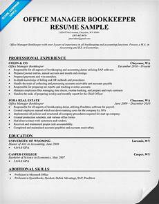 Bookeeper Resume Office Manager Bookkeeper Office Manager Resume Resume