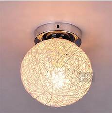 Ball Ceiling Light Small Size 6 Quot Ratten Ball Ceiling Light Free Shipping