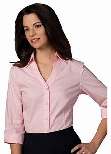 3 4 sleeve blouses edwards garment s wrinkle resist 3 4 sleeve