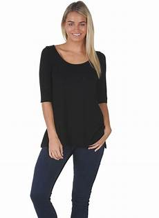 mid sleeve shirts for resistant mid sleeve t shirt black row by marcelle