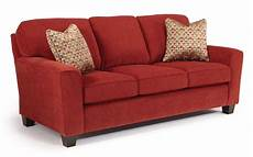 annabel customizable transitional sofa with beveled arms