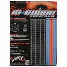 Winters Gear Chart Winters Performance Steel Quick Change Gears 10 Spline