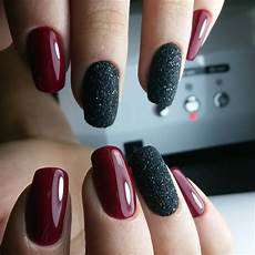 Burgundy And Black Nail Designs 55 Amazing Designs For Burgundy Nails Captivating And Trendy