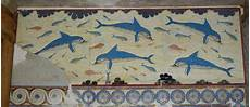 fresco crete greece yatrika crete dolphins fresco found in s megaron