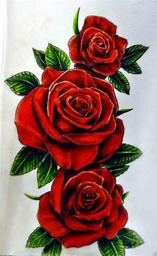 Japanese Rose Designs Roses By Karlinoboy Deviantart Com On Deviantart Red