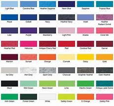 Gildan Shirt Color Chart Gildan G500l Ladies Heavy Cotton 5 3oz T Shirt Bulk