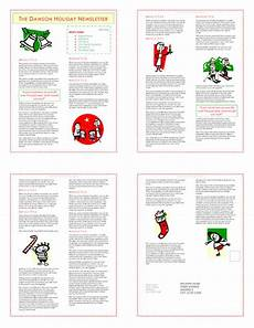 Christmas Family Newsletter Templates Free 9 Christmas Newsletter Templates To Create Printable And