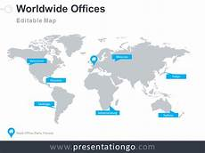 World Map Powerpoint Template Dotted World Map Powerpoint Presentationgo Com