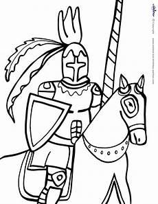 Malvorlage Ritter Einfach Konabeun Zum Ausdrucken Ausmalbilder Ritter 23357