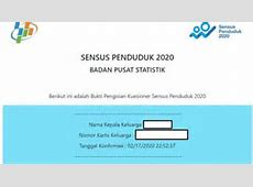 TUTORIAL Cara Isi Data Sensus Penduduk 2020 Online di