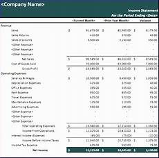Microsoft Income Statements 10 Microsoft Excel Income Statement Template Excel