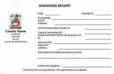 charitable donation receipt template word sle donation receipt template 17 free documents in