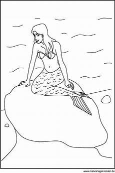 Malvorlagen Bilder De Geburtstagskalender Window Color Bild Einer Meerjungfrau