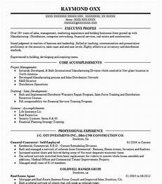 Self Employed Resume Samples Self Employed Contractor Resume Example Cook Construction