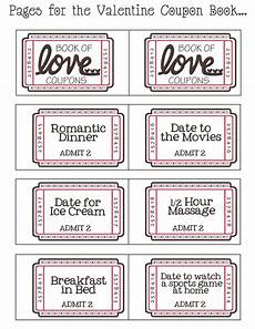 Printable Coupons For Him Free Printable Coupon Book Valentines Coupon