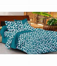 casa basics cotton bedsheet with 2 pillow covers