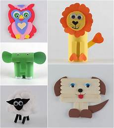 15 easy to make animal crafts for