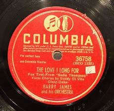 I See The Light Orchestra Harry James And His Orchestra The Love I Long For I M