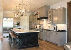 black kitchen islands kitchen photos burrows cabinets central builder