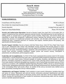 Government Resume Format How To Write Your Federal Resume With Free Samples
