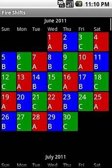 4 On 4 Off Shift Calendar App Firefighter Shift Calendar Print Free Calendar Template