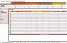 Marketing Calendar Template Excel 9 Free Marketing Calendar Templates For Excel Smartsheet