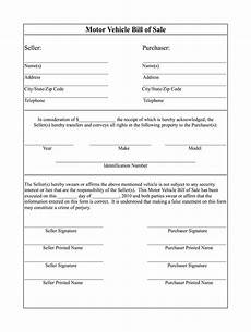 Free Car Bill Of Sale Pdf Bill Of Sale Template Fill Online Printable Fillable