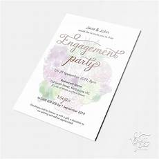 A5 Invitation Template A5 Engagement Invitation Template That Can Be Customised
