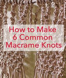 best 25 how to macrame ideas on macrame knots