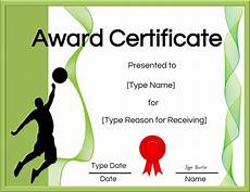 Volleyball Certificate Templates Free Volleyball Certificate Edit Online And Print At Home