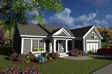 ranch style house plan 2 beds 2 baths 1540 sq ft plan