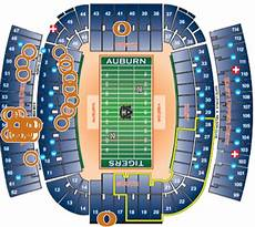 Auburn University Football Stadium Seating Chart Public Officials At The Iron Bowl Use Interactive Seating